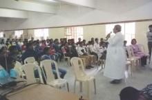 Altar Servers Camp at Ascension Church.